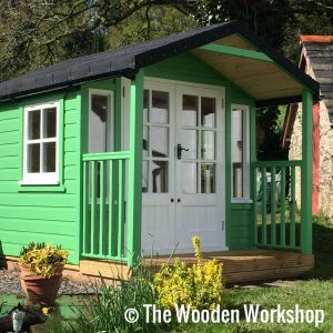 Painted Summerhouse
