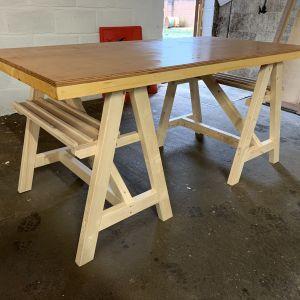 Art Trestle Tables