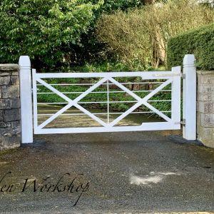 Sapele Hardwood Gates