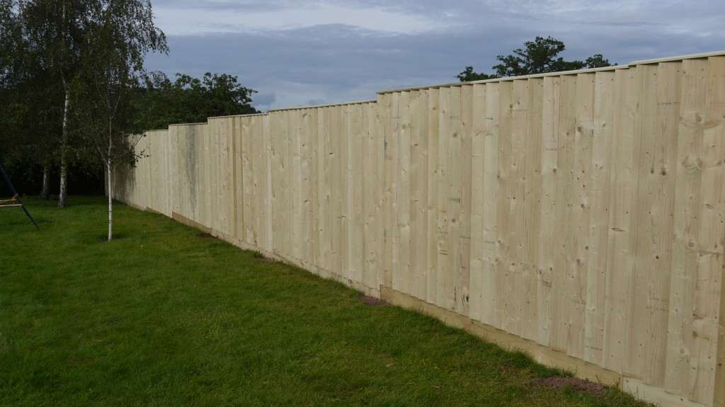 Garden Fencing in Bampton Tiverton