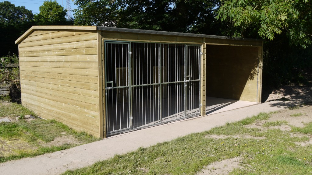 Working Dog Kennels And Runs