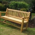 5ft Hardwood Garden Bench handmade Bampton Devon