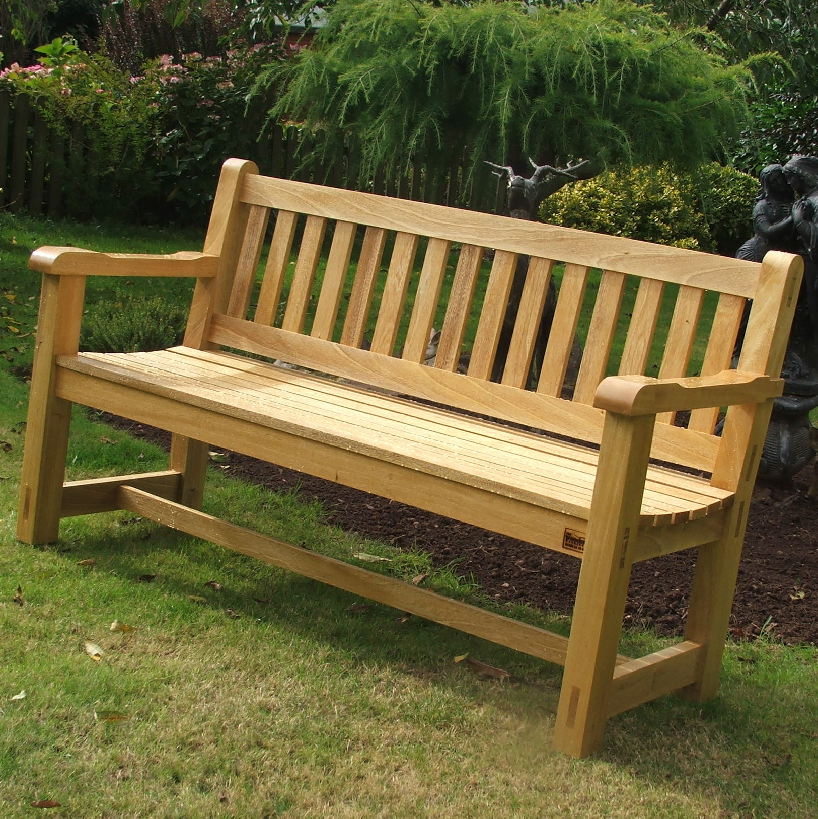 Patio Home Plans Hardwood Garden Bench Idigbo The Wooden Workshop