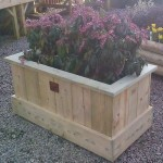 Large Wooden Garden Planter