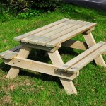 Picnic Benches Handmade Wooden Workshop Bampton Devon Childrens