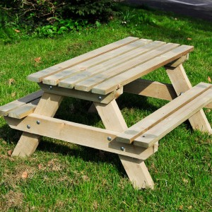 Picnic Benches Handmade Wooden Workshop Bampton Devon Childrens