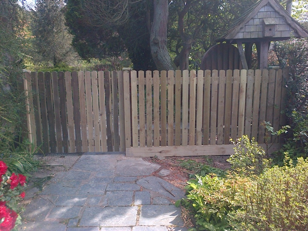 Fencing The Wooden Workshop Bampton