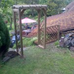 Garden Wooden Pergola The Wooden Workshop Bampton Devon