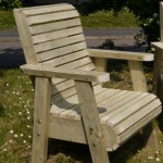 Bespoke-Chunky-Roll-Top-Garden-Chairs - garden furniture - the wooden workshop- bampton devon
