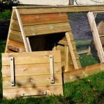 Chicken ARK - Chicken / Poultry Housing - The Wooden Workshop Bampton Devon