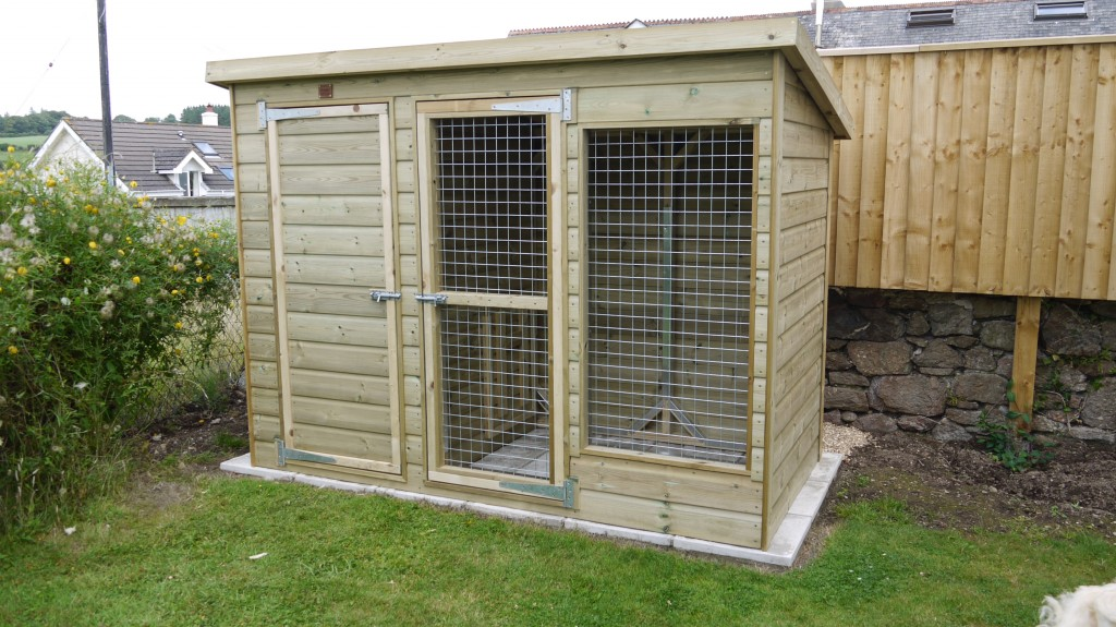 Garden Dog Kennel The Kingfisher The Wooden Workshop