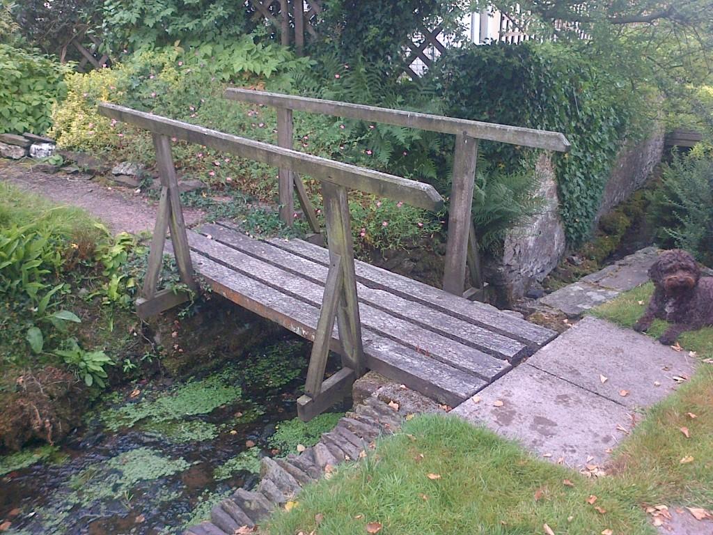 Decorative Wooden Bridge. | The Wooden Workshop | Oakford ...