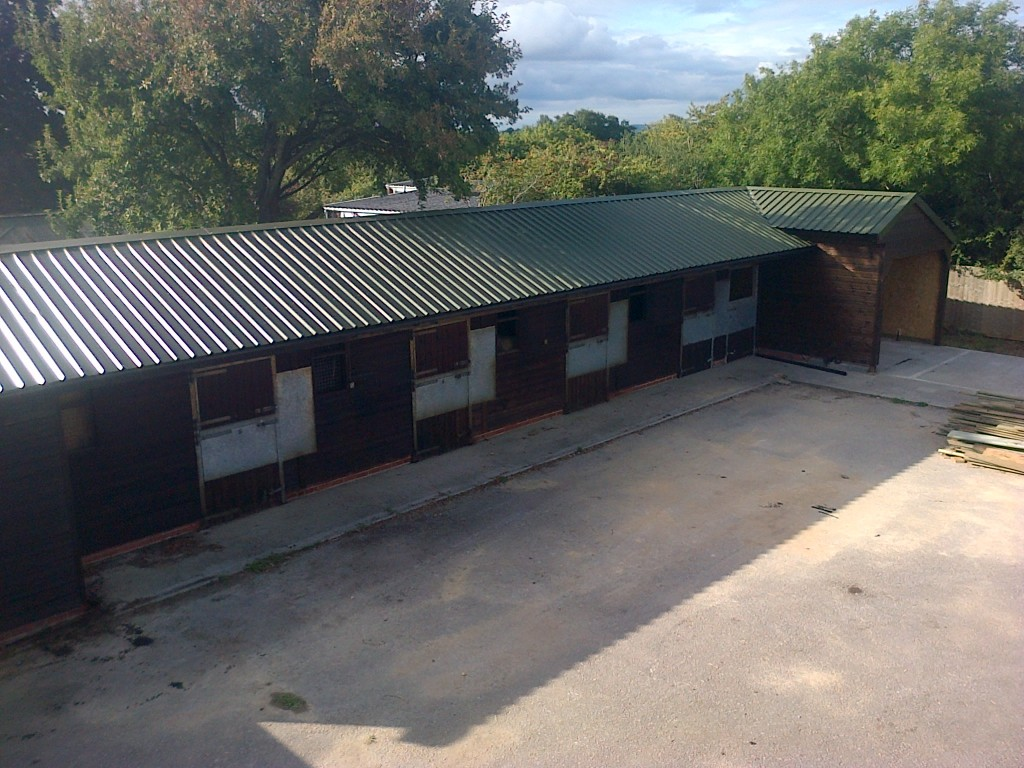 Stables And Field Shelters The Wooden Workshop Oakford