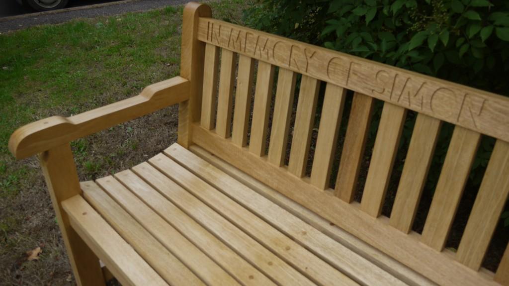 Memorial Benches The Wooden Workshop Oakford Devon
