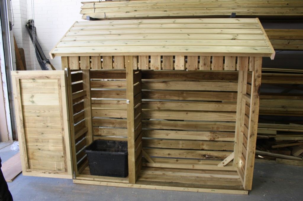Custom Log Storage The Wooden Workshop Oakford Devon