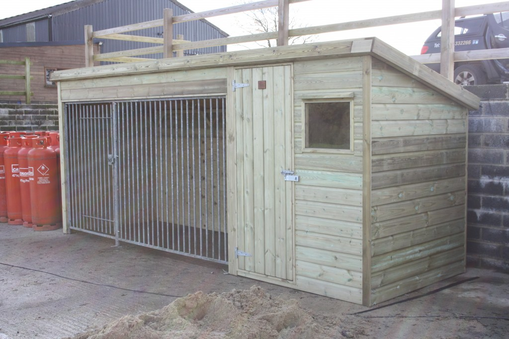 Custom Built Dog Kennel The Wooden Workshop Oakford Devon
