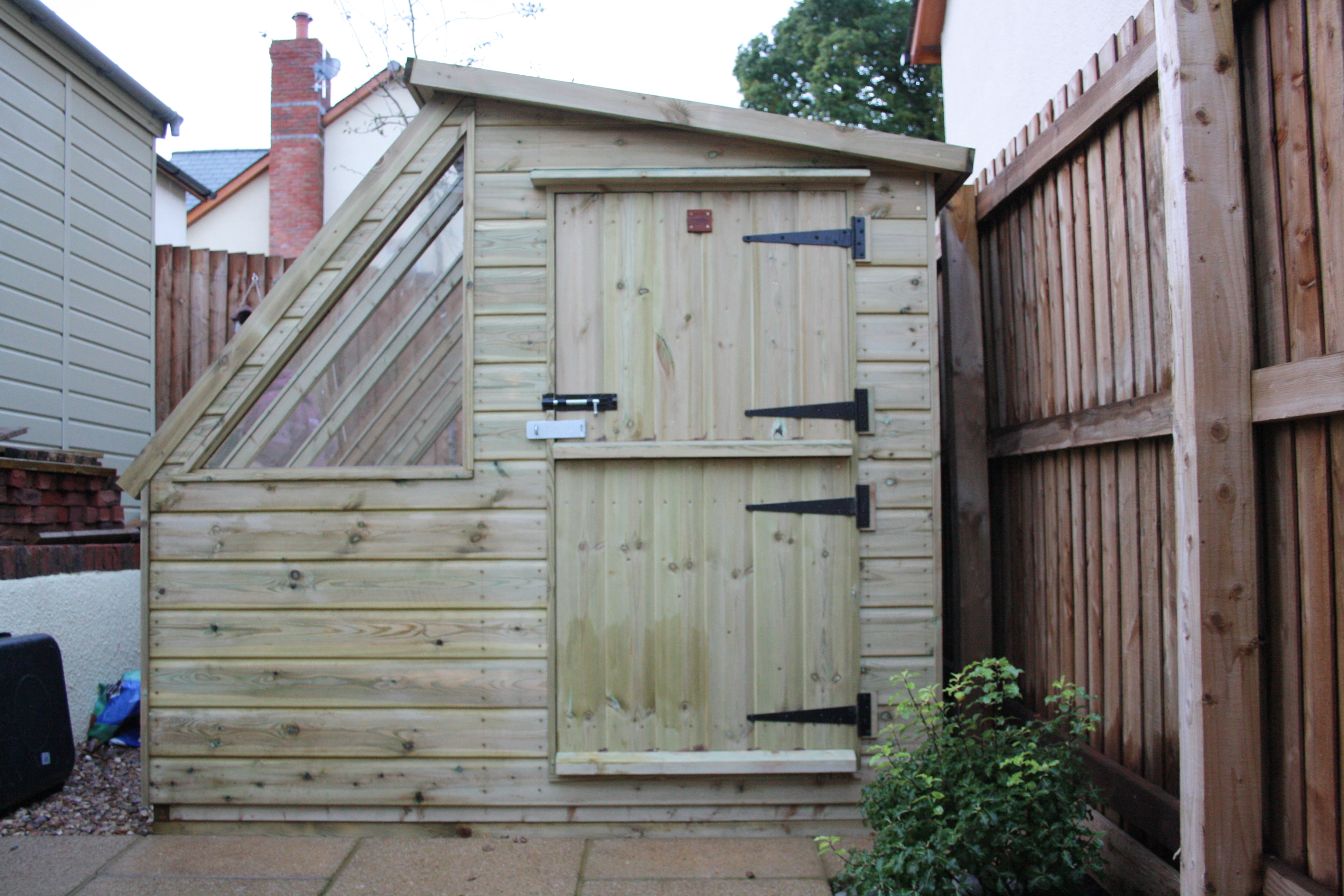 Garden Potting Shed - The Wooden Workshop Bampton Devon