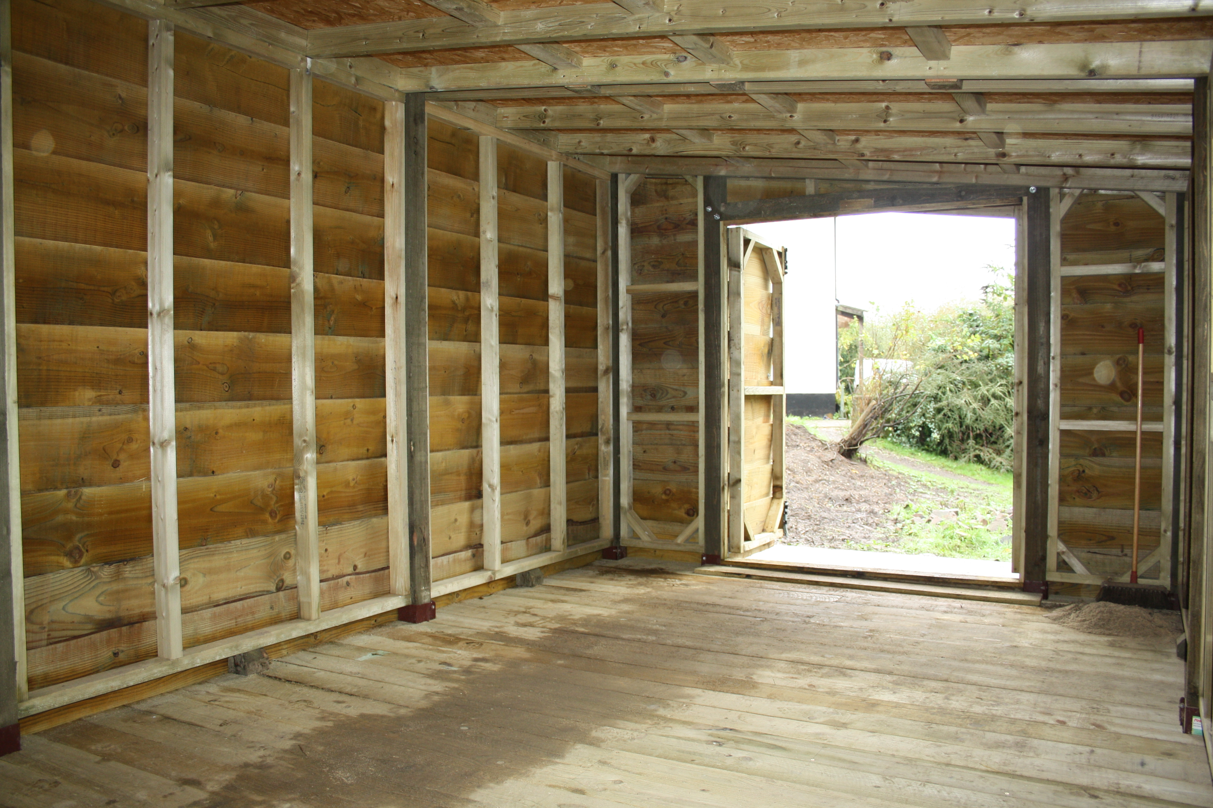 Rustic Shed The Wooden Workshop Oakford Devon