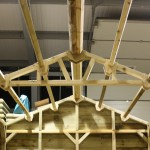 Roof Perlins - The Wooden Workshop Bampton Devon