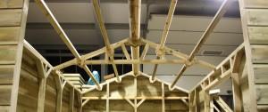 Roof Perlins - The Wooden Workshop Bampton Devon