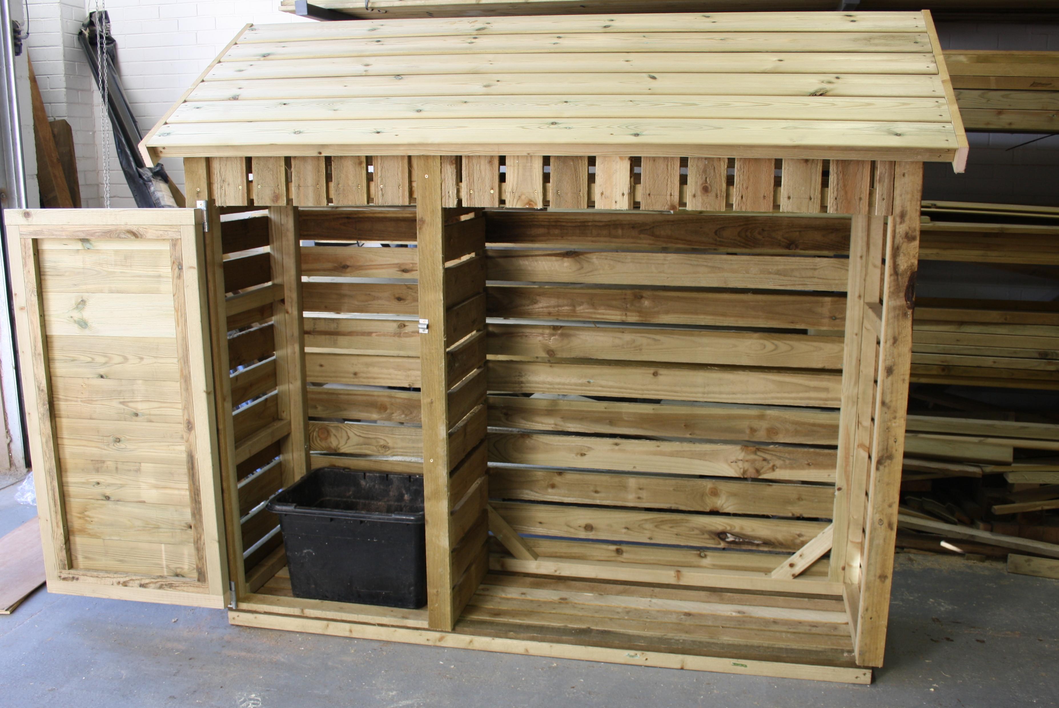 Custom Log Stores | The Wooden Workshop | Oakford, Devon