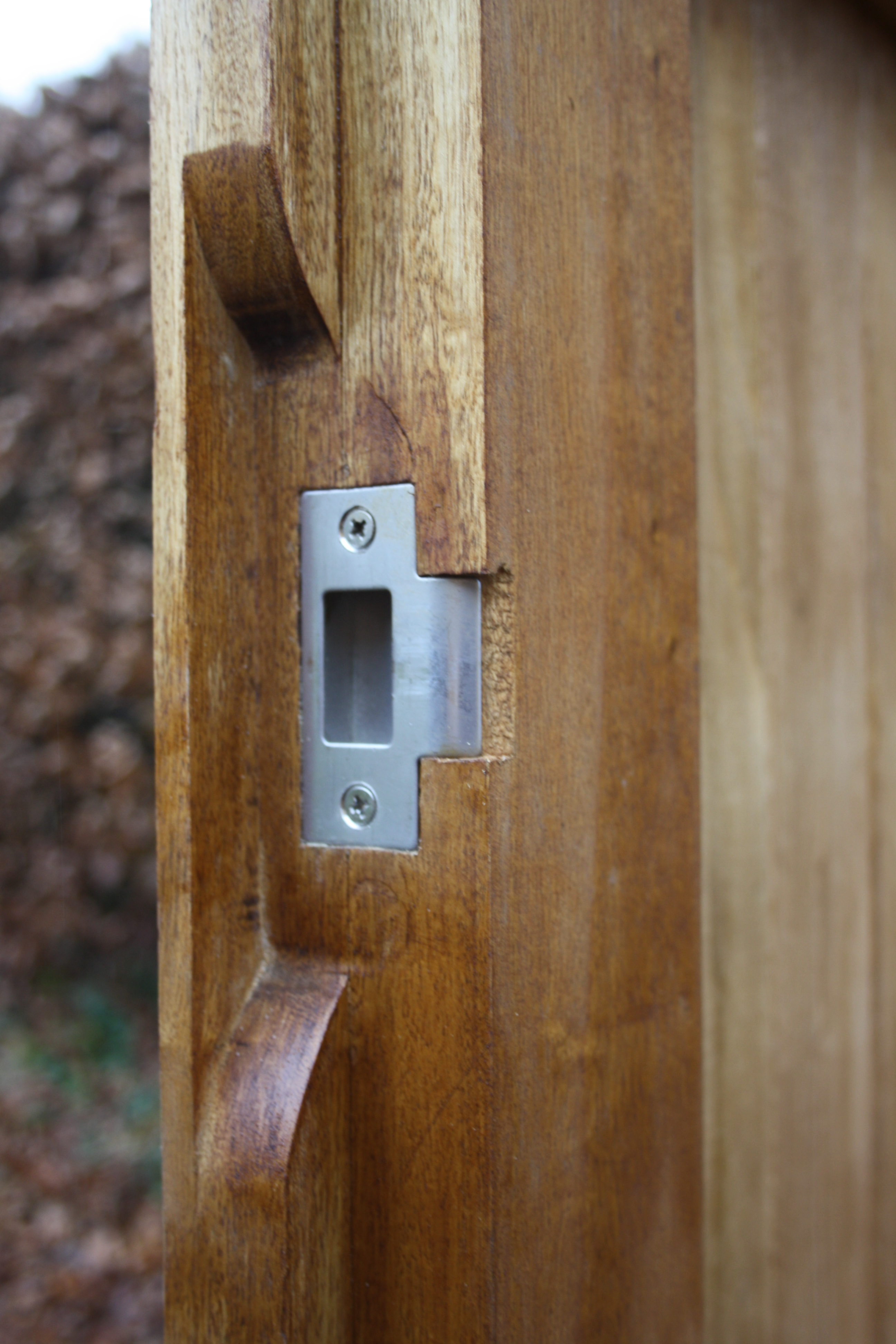 Latch Plate The Wooden Workshop Oakford Devon