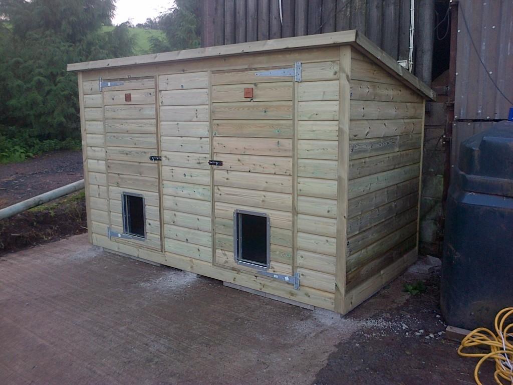 Double Dog Kennels - The Wooden Workshop Tiverton Devon