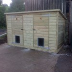 Double Dog Kennels - The Wooden Workshop Tiverton Devon