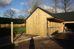Oak Stable Cladding