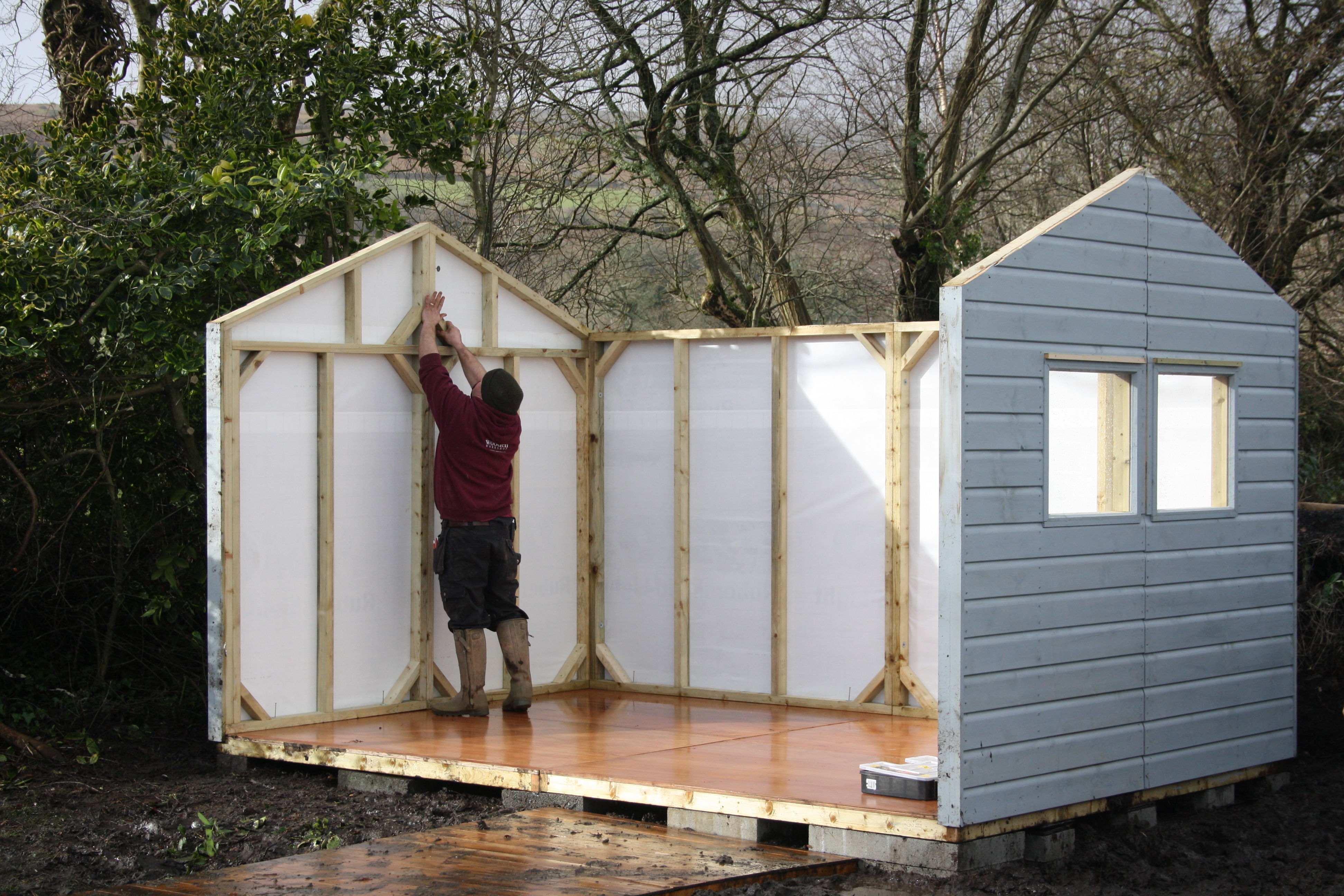 Shed Building The Wooden Workshop Bampton Devon The