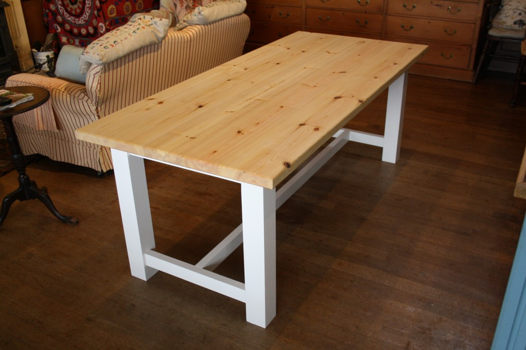 Farmhouse Style Table The Wooden Workshop Oakford Devon