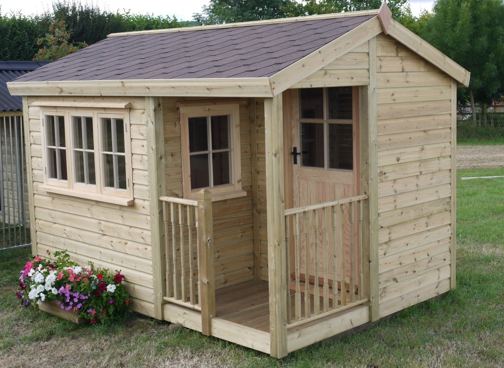 Garden Studio - The Wooden Workshop Devon