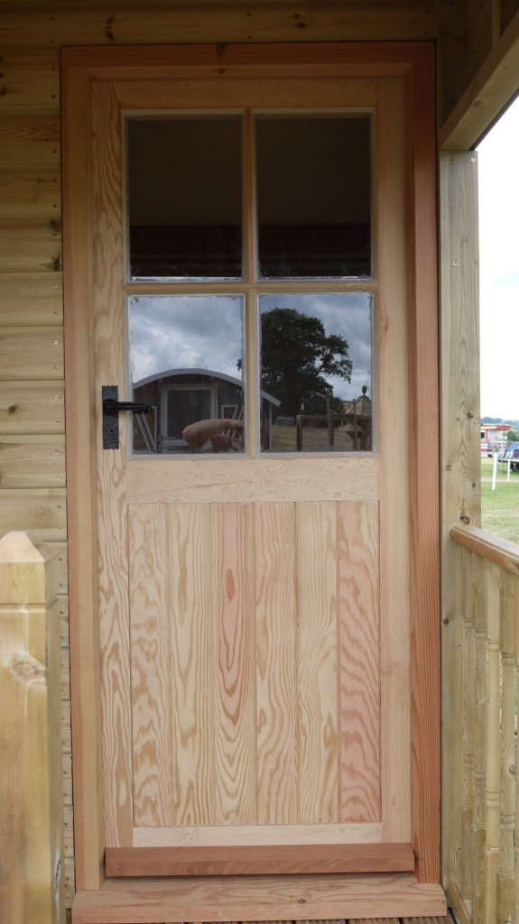 Rebated door garden studio - the wooden workshop bampton devon