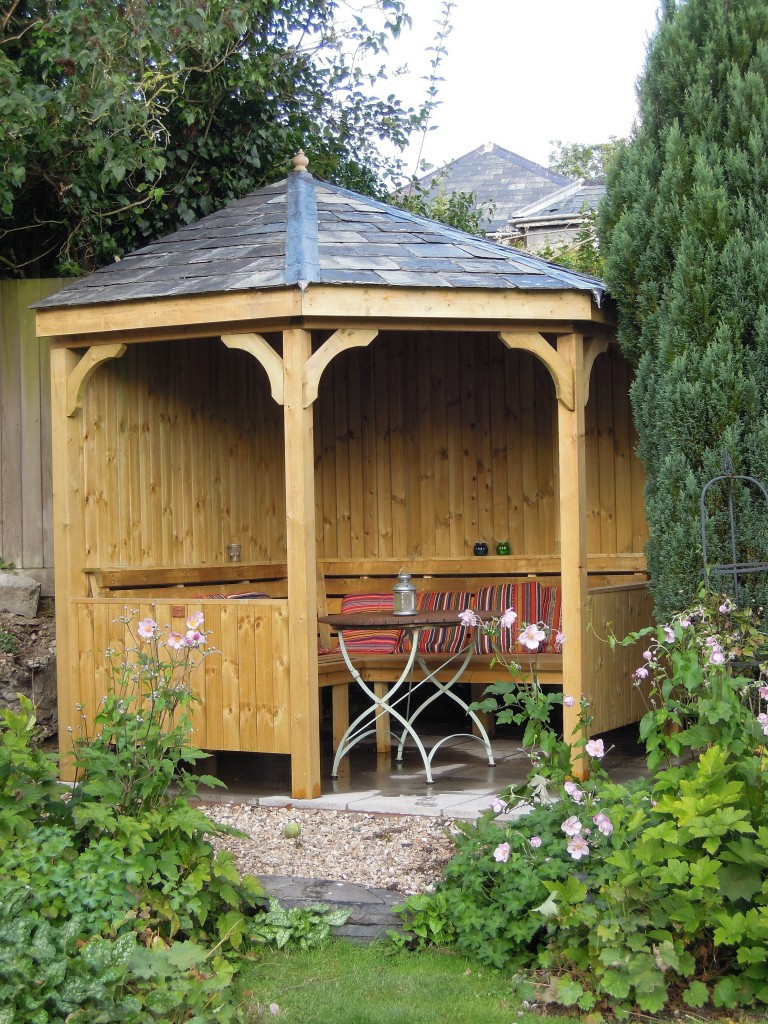 Corner Seating Arbour The Wooden Workshop Oakford Devon