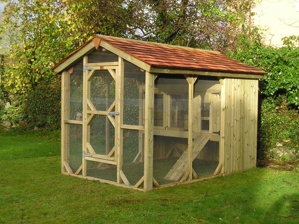 Bespoke Rabbit Cabin The Wooden Workshop Oakford Devon