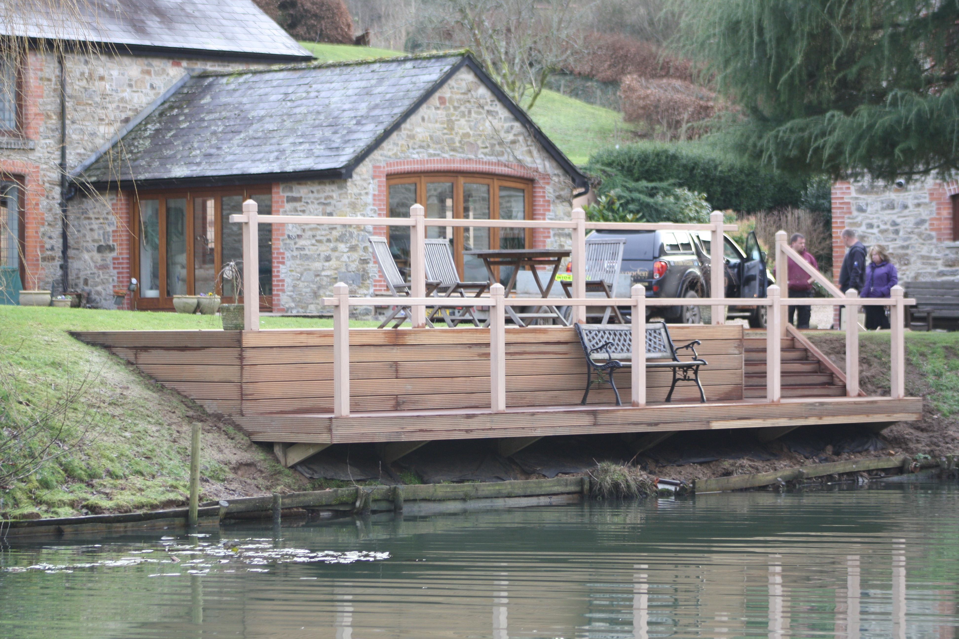 Waterfront Lakeside Deck The Wooden Workshop Oakford