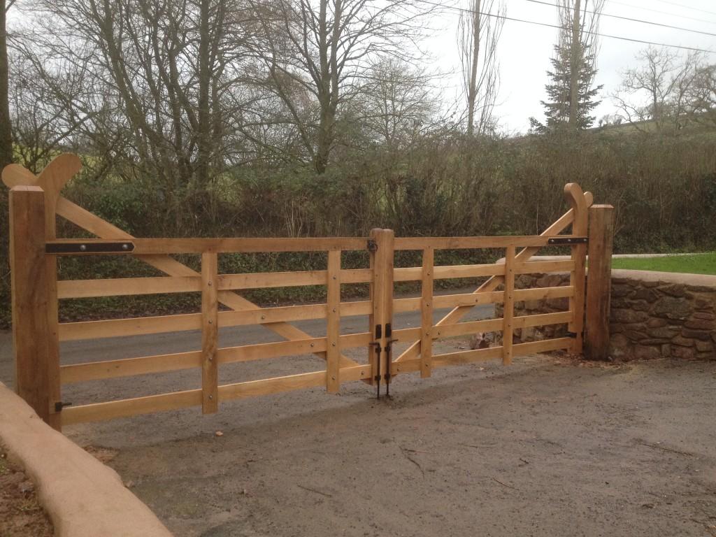 Hockeystick Gates The Wooden Workshop Oakford Devon