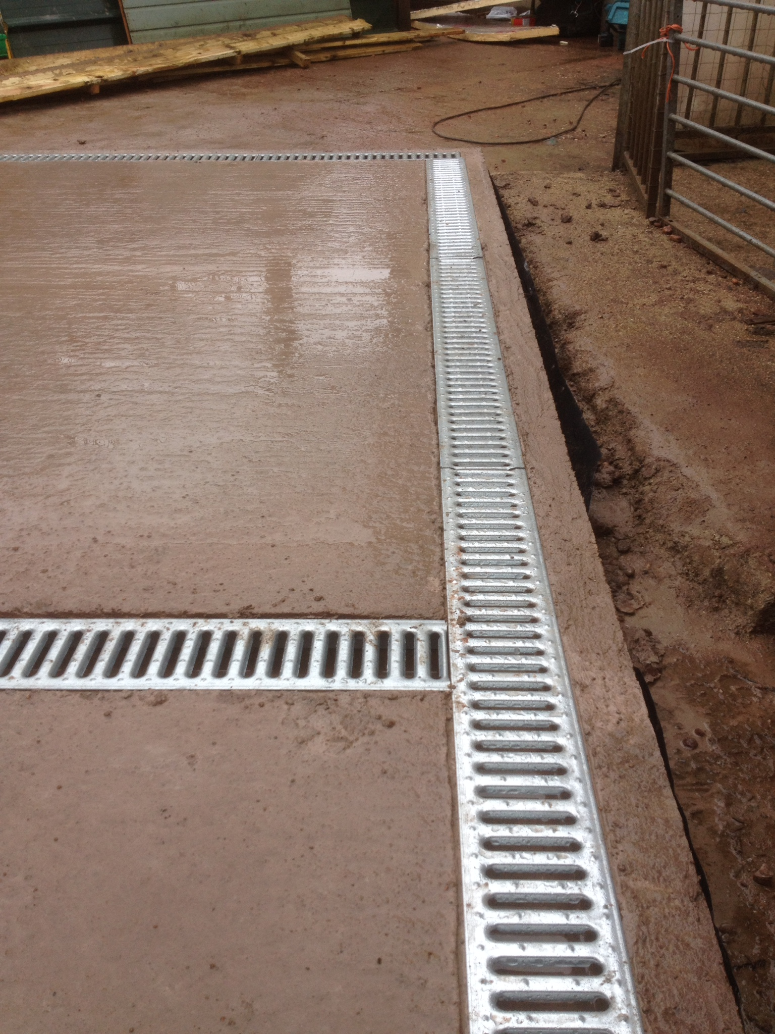 Double Kennel Drainage System The Wooden Workshop