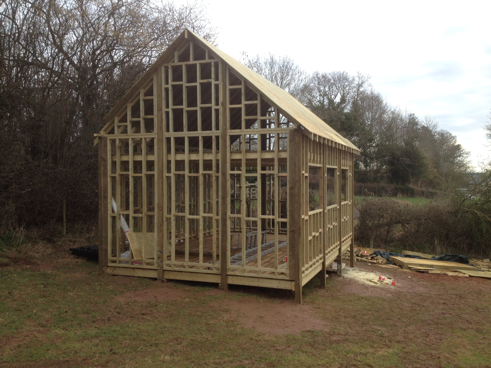 Wood Cabin Hunting Cabin Build The Wooden Workshop