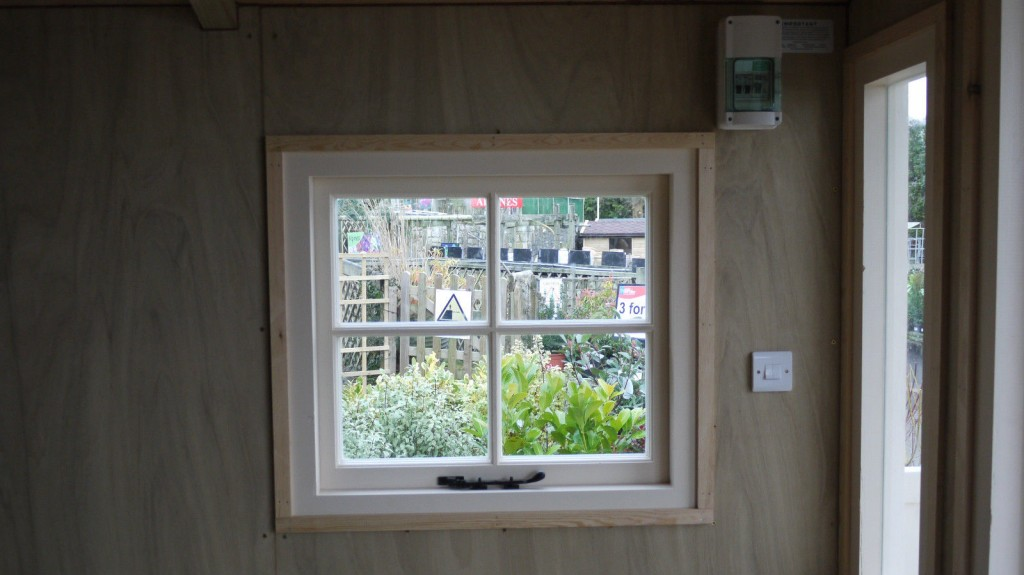 Casement window - Veranda summerhouse