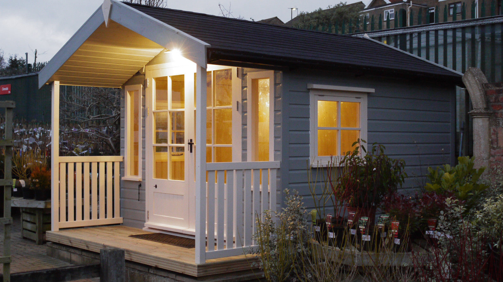 Veranda Summer House The Wooden Workshop Oakford Devon