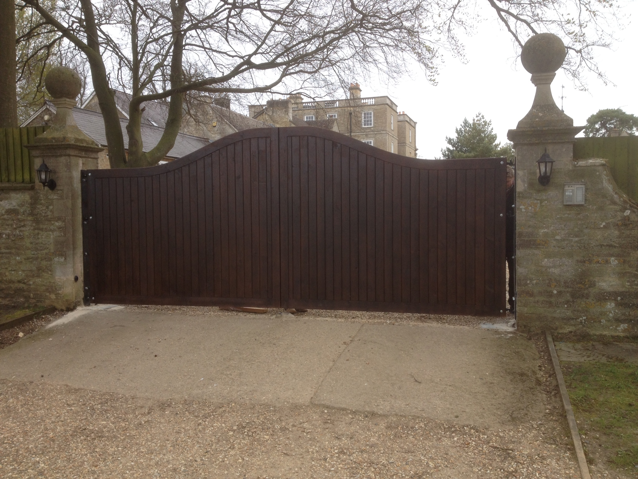Driveway Security Gates The Wooden Workshop Oakford