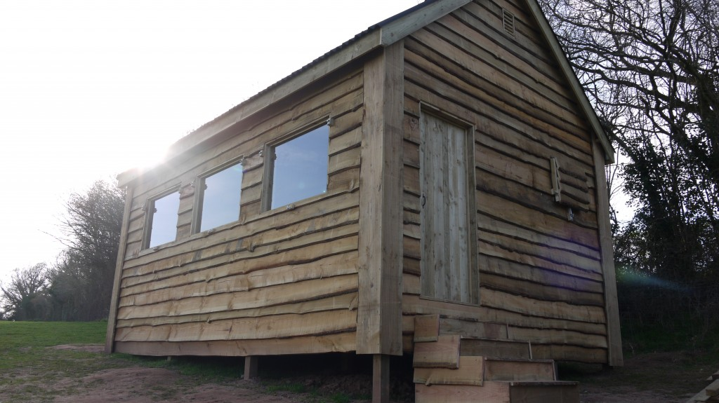 Waney Edge Hunting Lodge The Wooden Workshop Oakford
