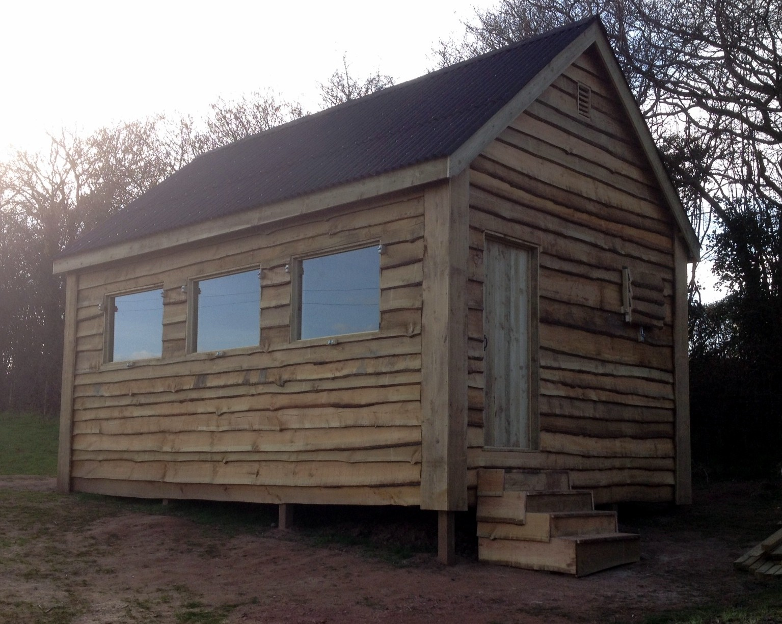 Waney Edge Wood Cabin The Wooden Workshop Oakford Devon