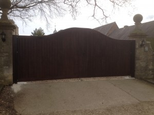 Oak Security Gates