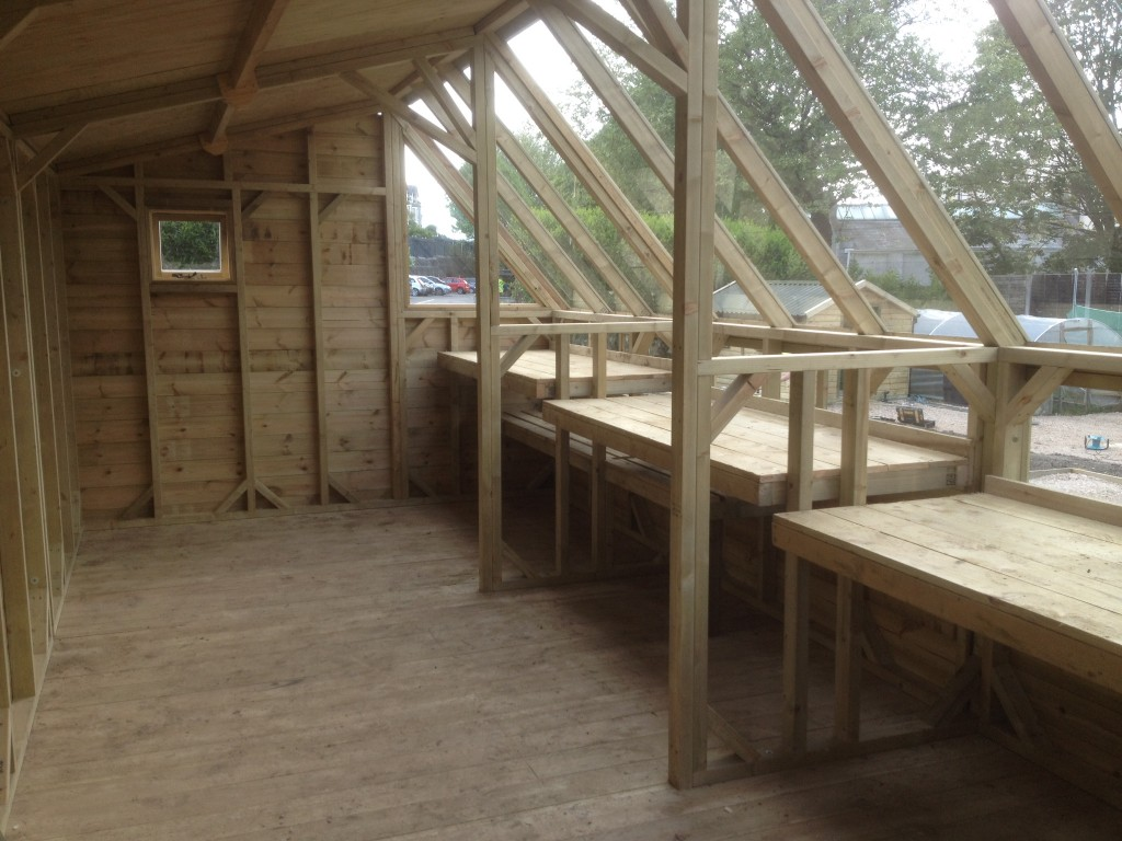 Interior Workbenches Potting Shed The Wooden Workshop