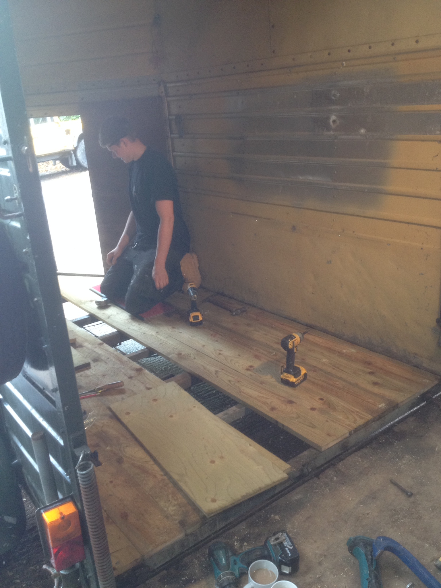 Horse Box Replacement Floor The Wooden Workshop Tiverton