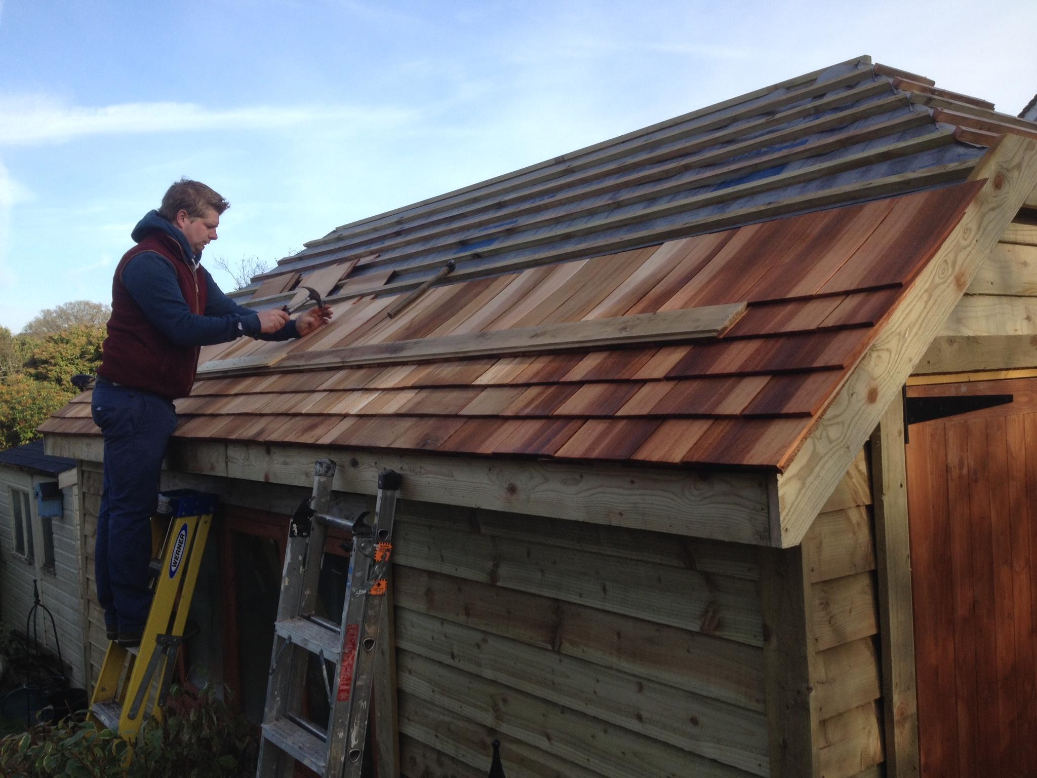 Hipped Roof Garage The Wooden Workshop Oakford Devon