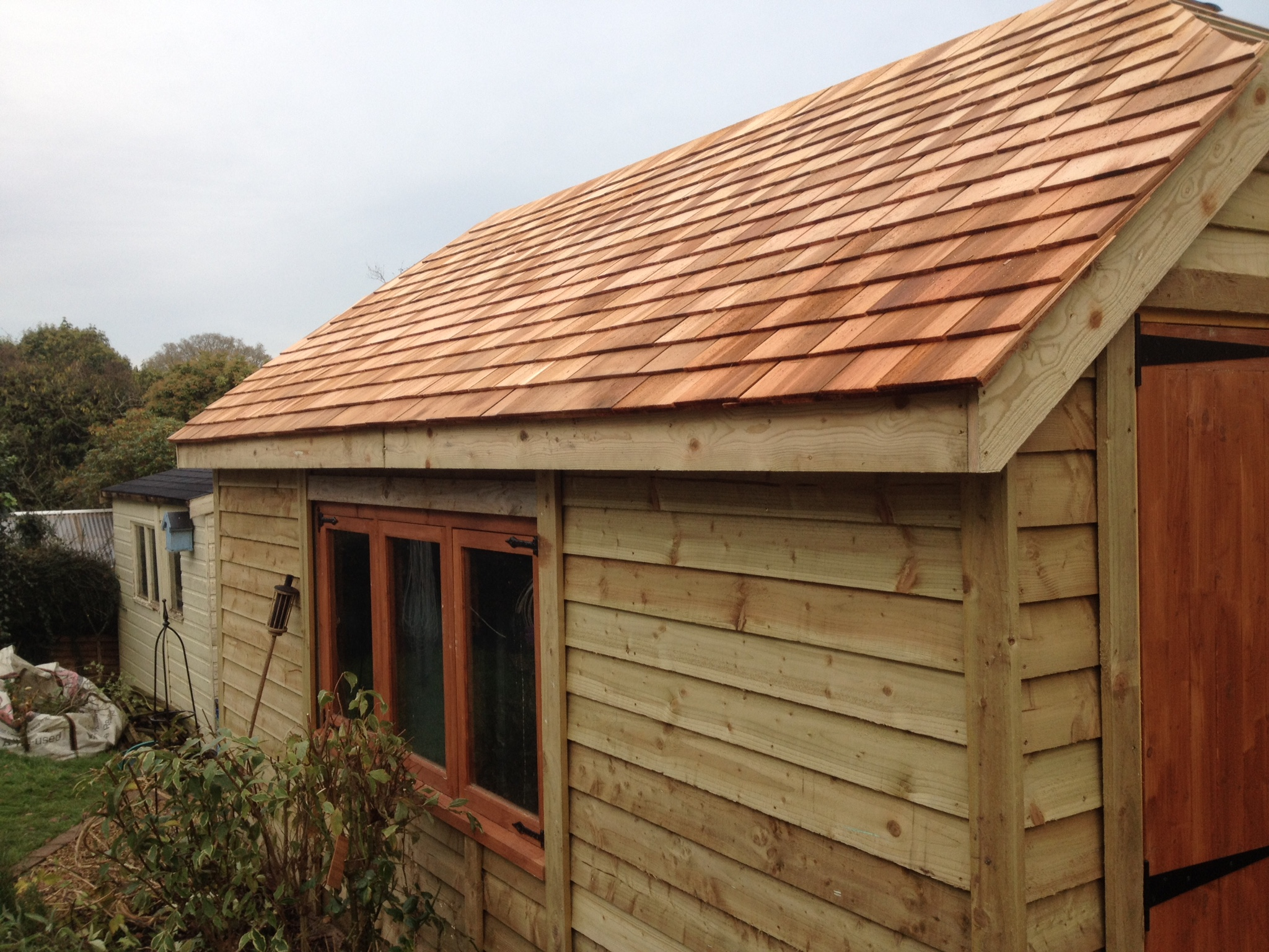 Timber Garages The Wooden Workshop Oakford Devon