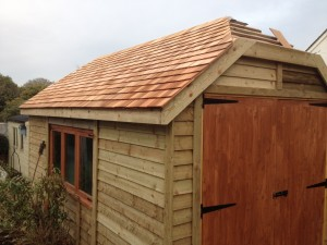 Hipped Roof Garage